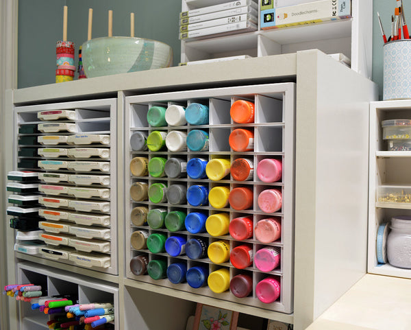 Craft Paint Organizer For Ikea Organizemore