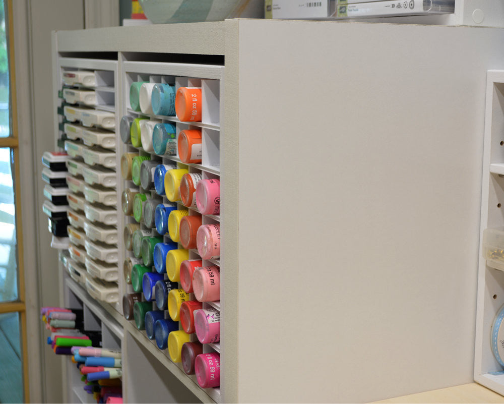 Craft Paint Organizer (fits IKEA)