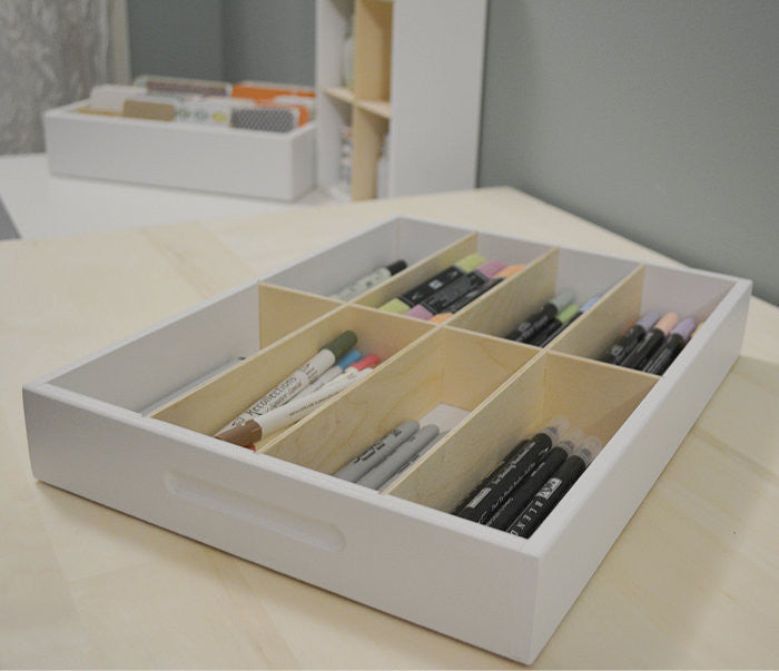 8 Cubby Drawer Caddy