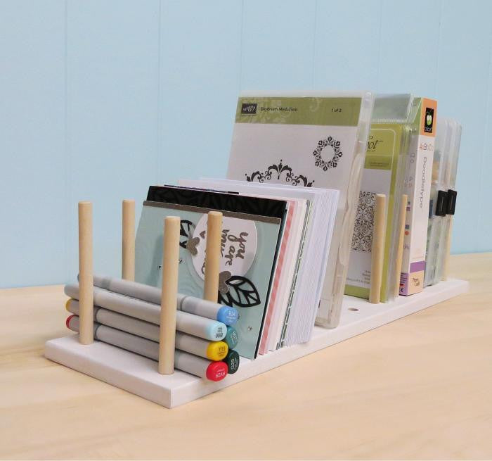A far away view of the Adjustable Peg Organizer