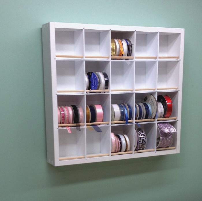 Pro Ribbon Organizer on the wall.