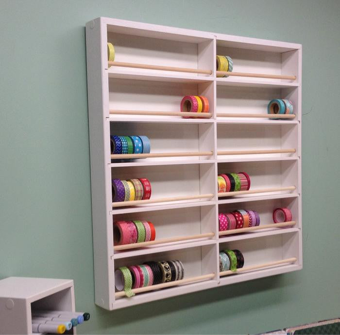 Ribbon Washi Storage Organizemore