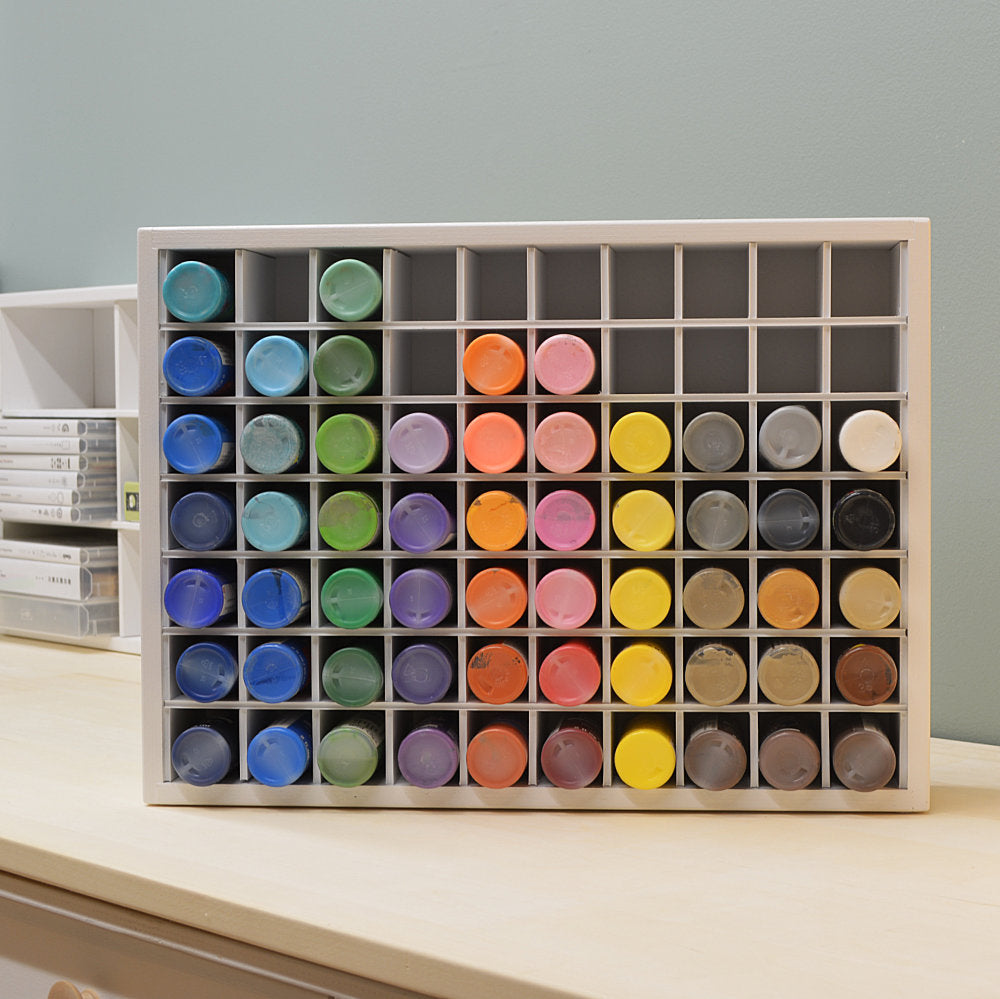 Craft Paint Organizer-holds 70