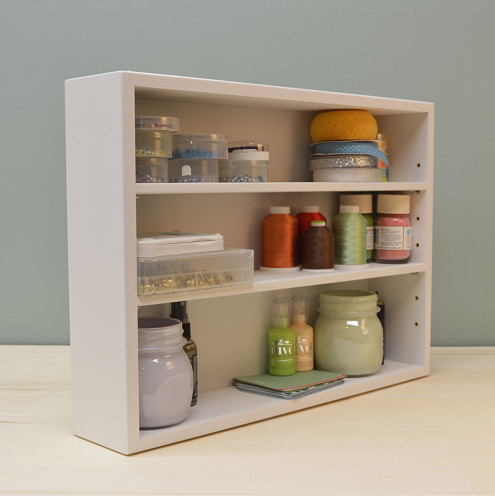 Adjustable Craft Shelf Organizer