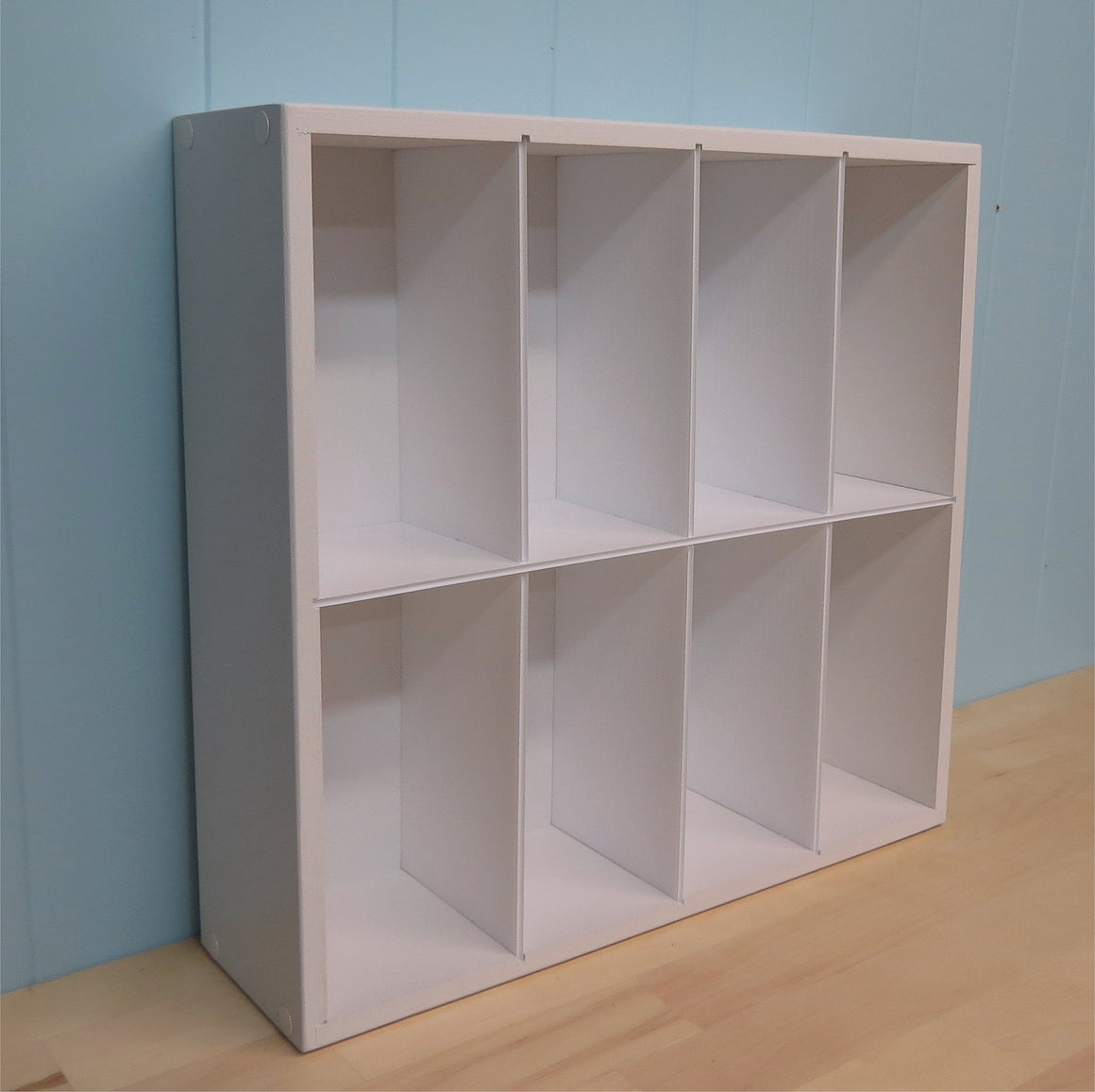 A picture of the empty craft organizer for DVD style Stamp Sets.