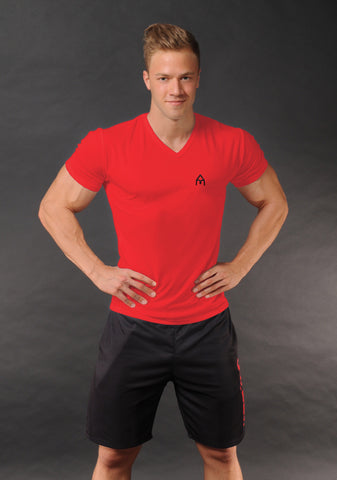 Attila's Coolpass V-Neck - Red