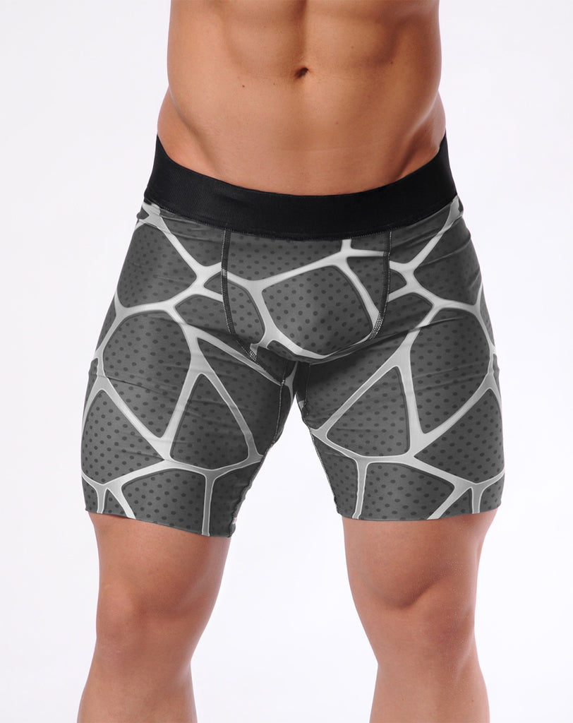 Attila's Compression Training Briefs - Steel