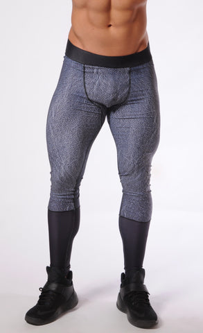 Attila's Compression Tights - Dual Leather