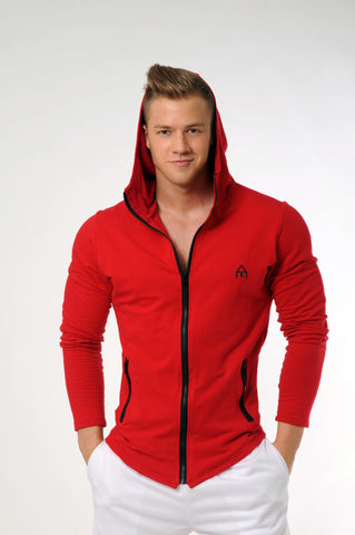 Attila's All-Season Performance Hoodie - Red