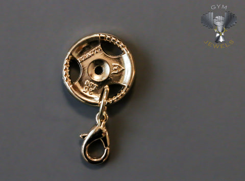 Gold Plate Charm - 'BEAUTY'