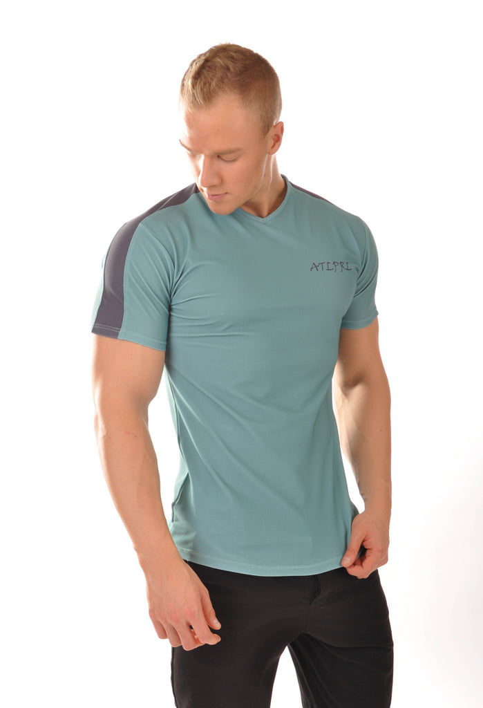 ATLPRL Fitted T - Turquoise