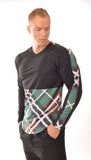 Attila's Long Sleeve Plaid Tee