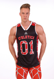 Attila Athletics Jersey - RedBlack