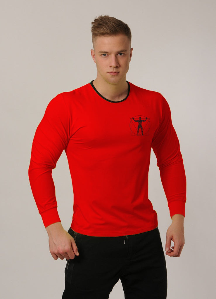 Attila's Long-Sleeve Coolpass T - Red