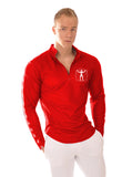 Attila's Signature Zip Shirt - Fire Red