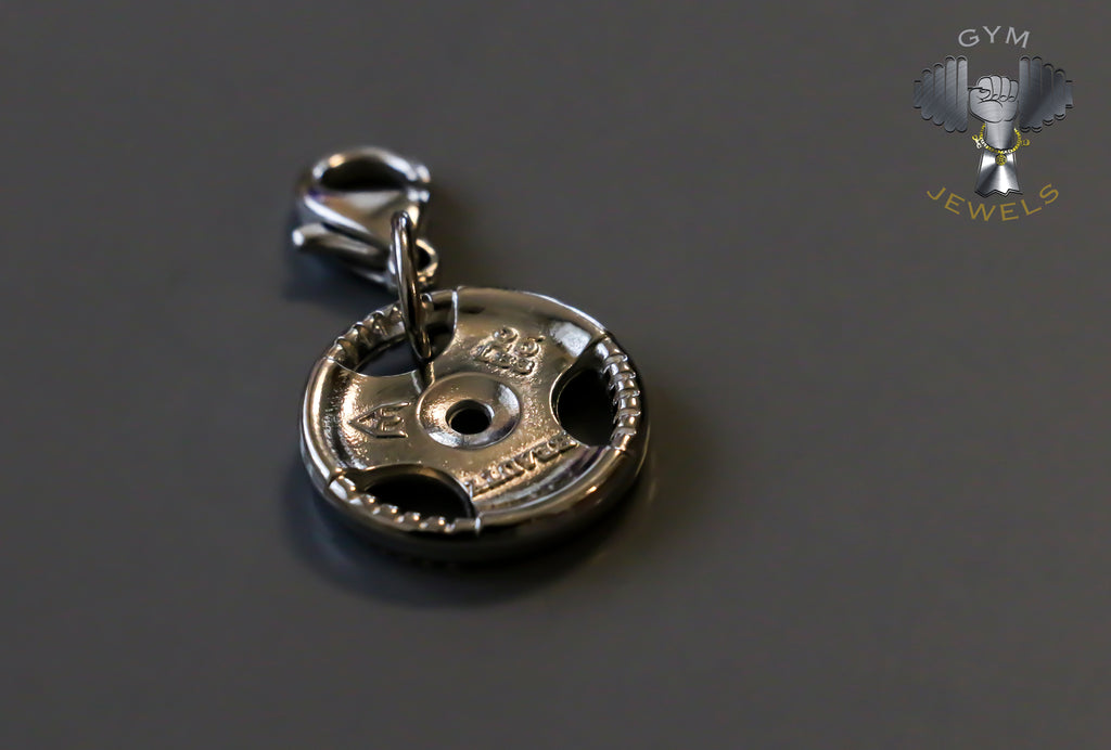 Silver Plate Charm - 'BEAUTY'