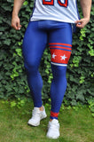 Attila's USA Compression Tights