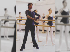 Ballet class with Andrea Long-Naidu