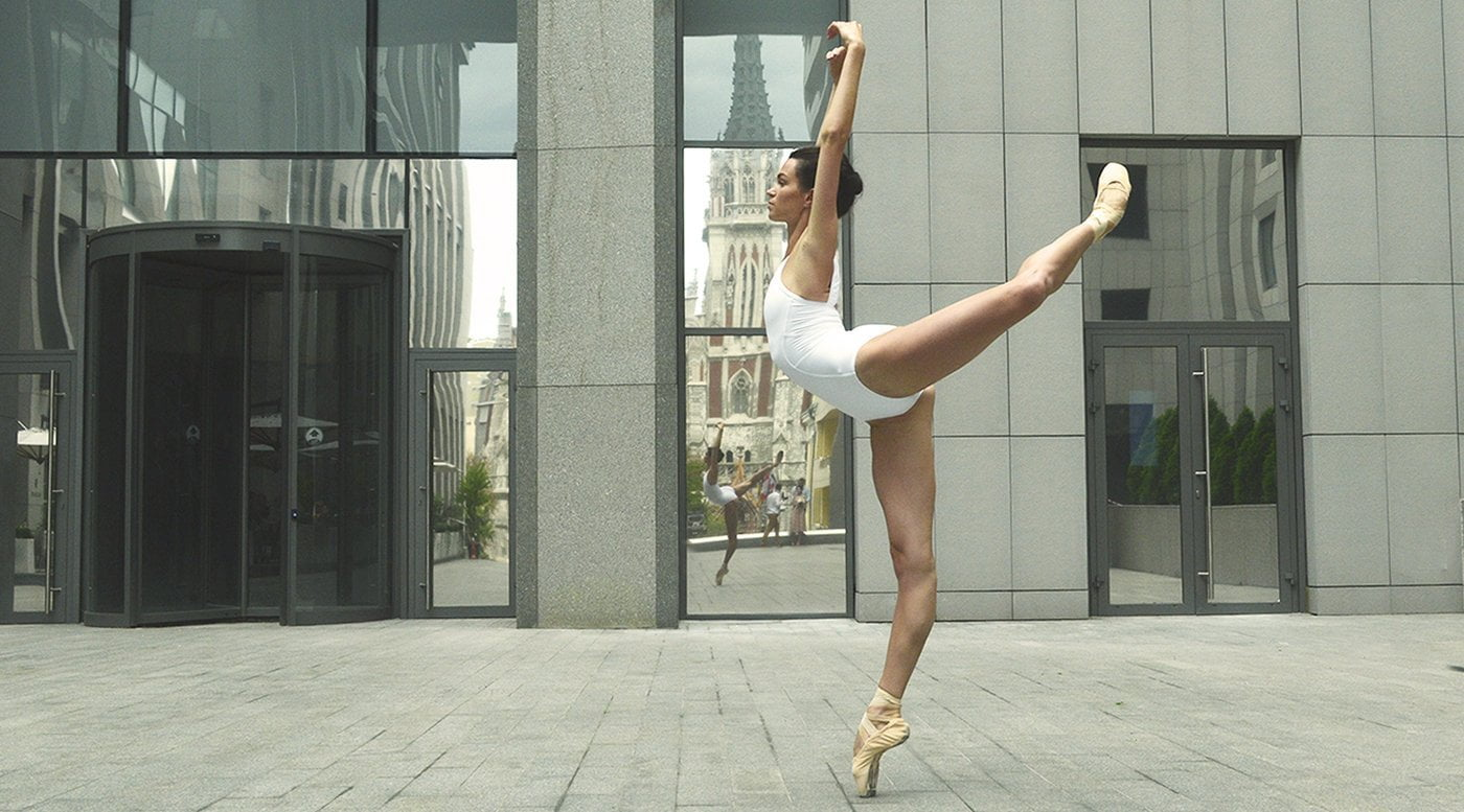 arabesque ballet move