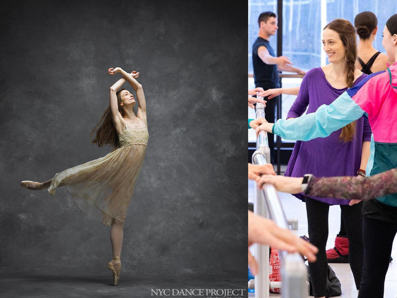 Julie Kent - Advanced/Professional ballet class - Part 2