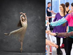 Julie Kent - Advanced/Professional ballet class - Part 1