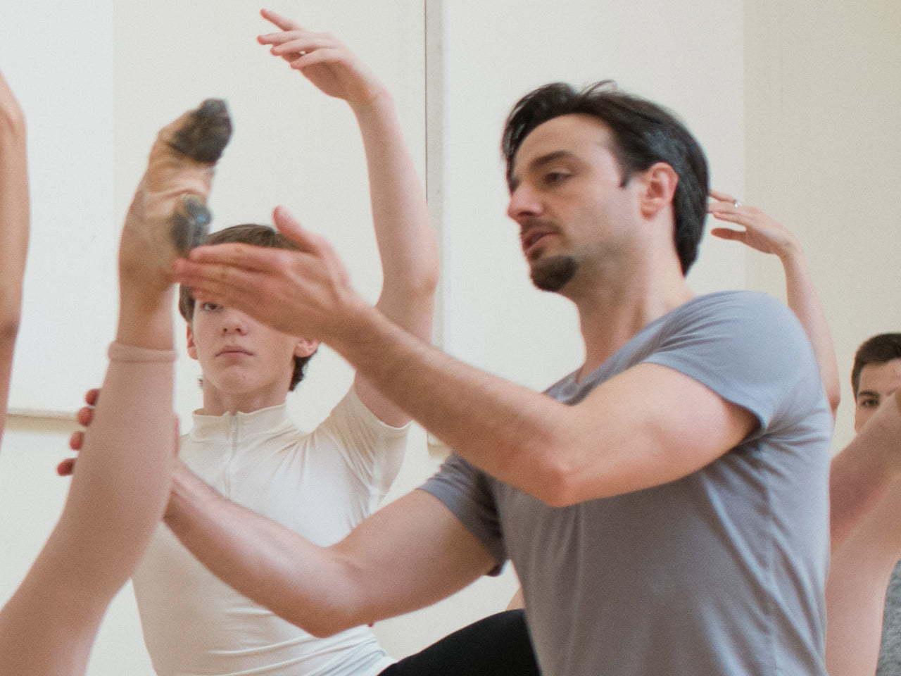 Ruben Martin - Advanced/professional ballet class