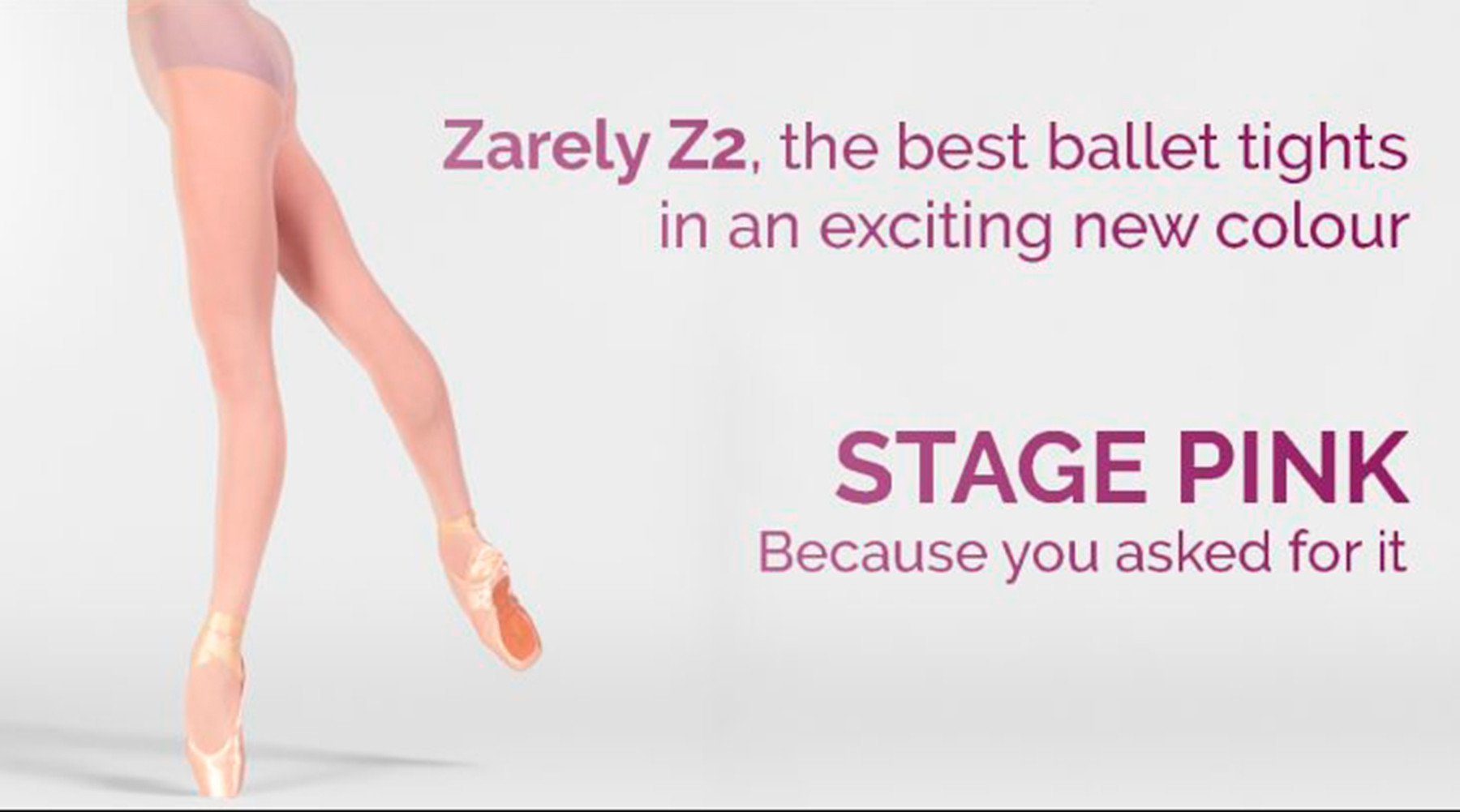 Meet the Famous Zarely Z2 Performance Tights in Stage Pink!