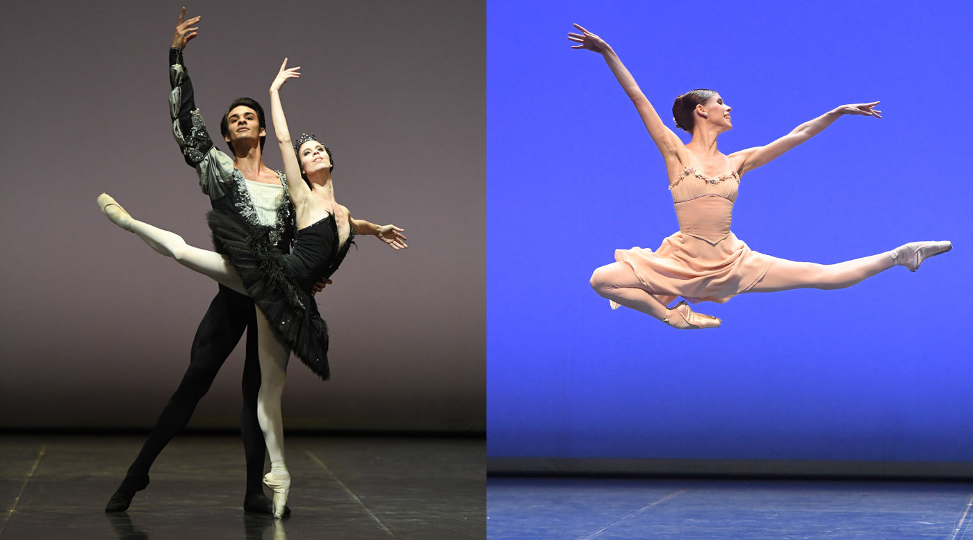 repetitive movements that ballet dancers do