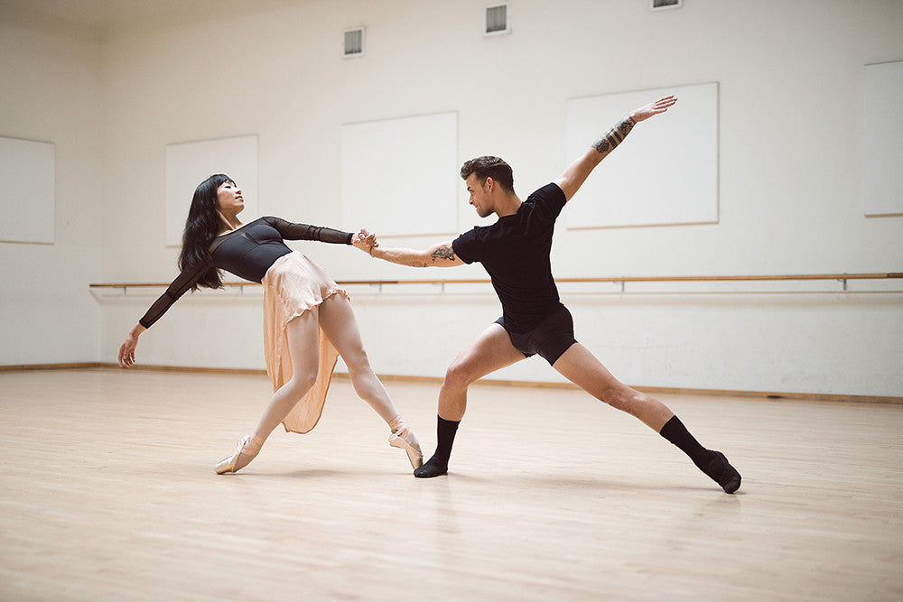 Frances Chung and Taras Domitro Ballet San Francisco for Zarelywear