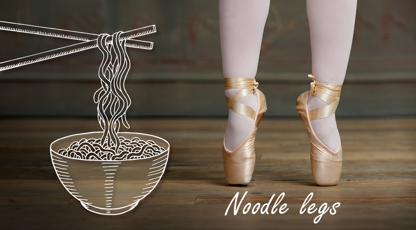 Ballet Poses Sloppy Form Represented By Food Zarely