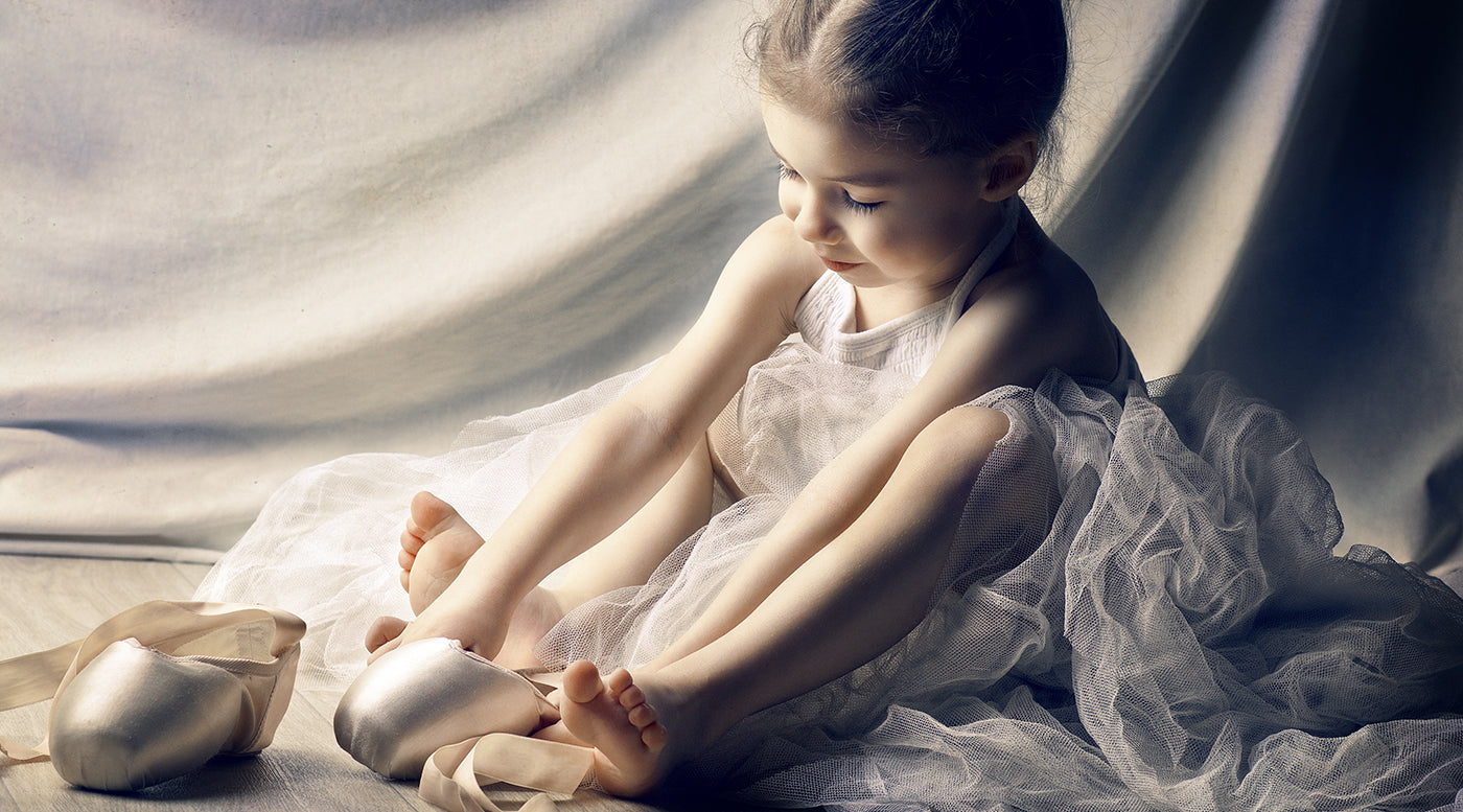 ballet dressing up, little ballerina