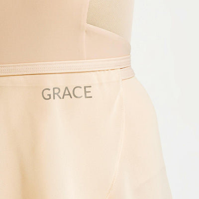 wrap nude skirt for ballerina with adding name feature