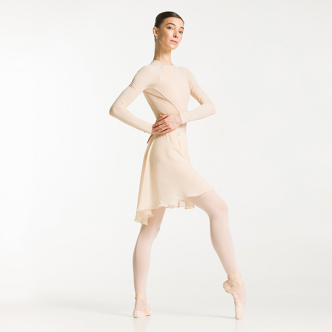 custom middle skirt with your name, ballet clothes