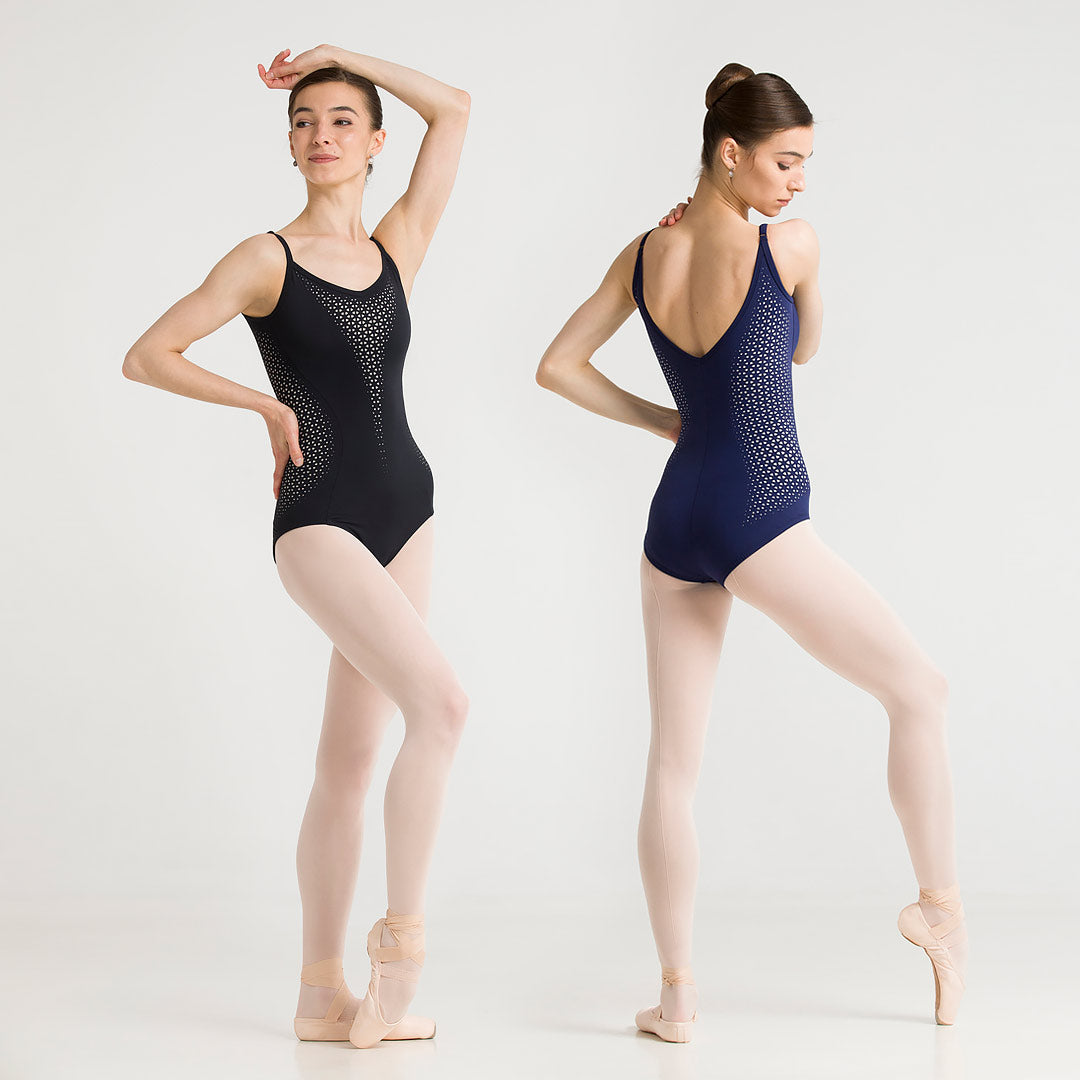 Katherine Laser-Cut Leotard