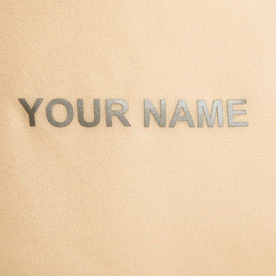 your name on nude ballet skirt
