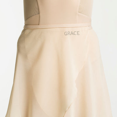 custom long chiffon ballet skirt with your name
