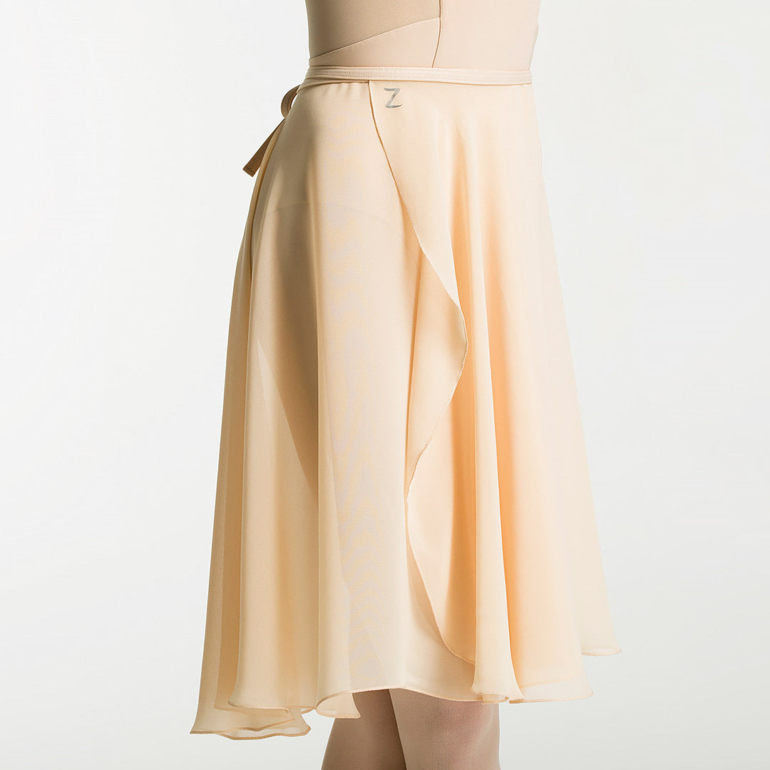 long wrap ballet skirt