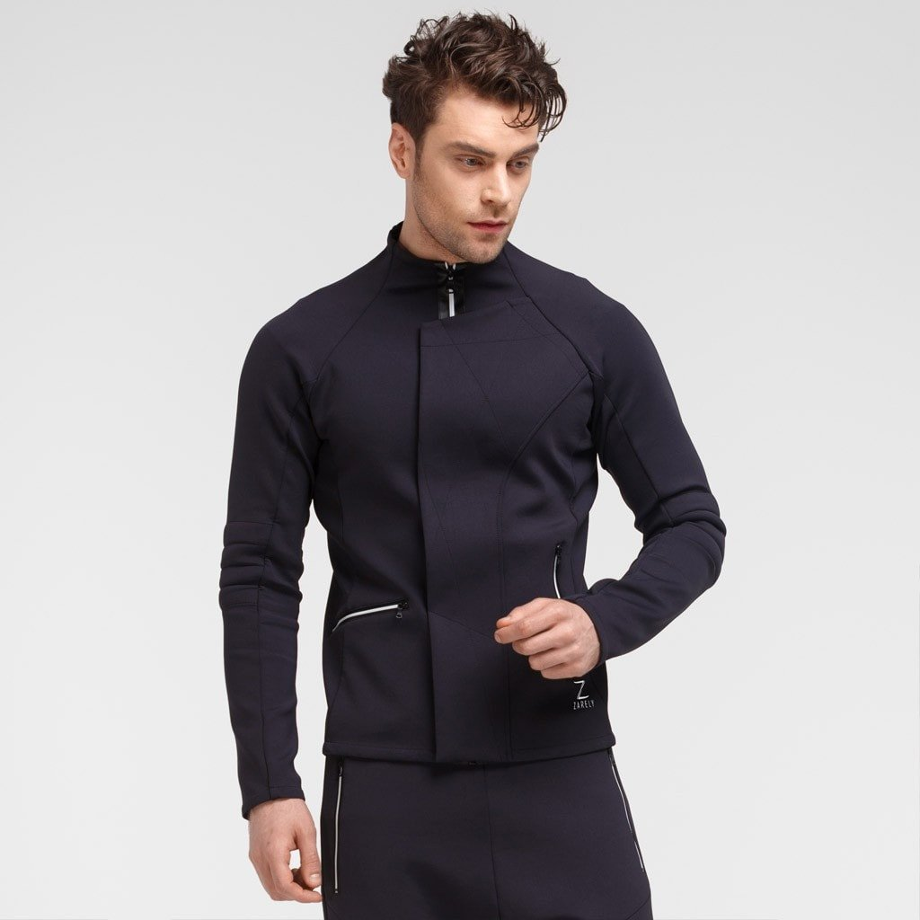 Zarely jacket-men Denys Neoprene Style Jacket