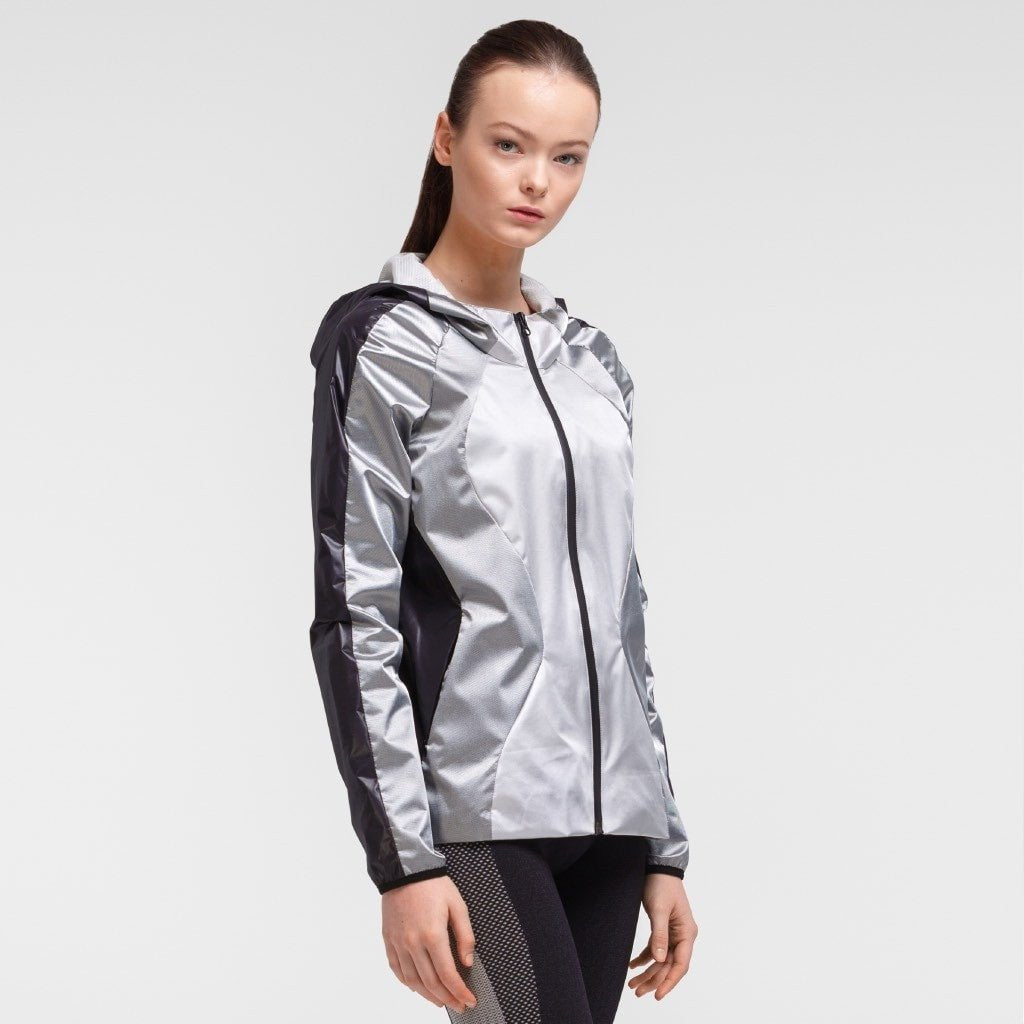 Zarely jacket-women Dores Silver Jacket