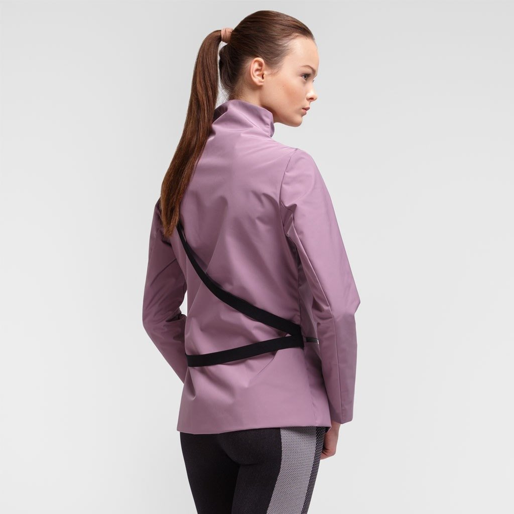 Iana Plum Jacket