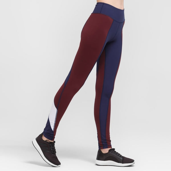 Lia Burgundy Leggings