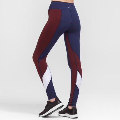 Zarely leggings-women Lia Burgundy Leggings