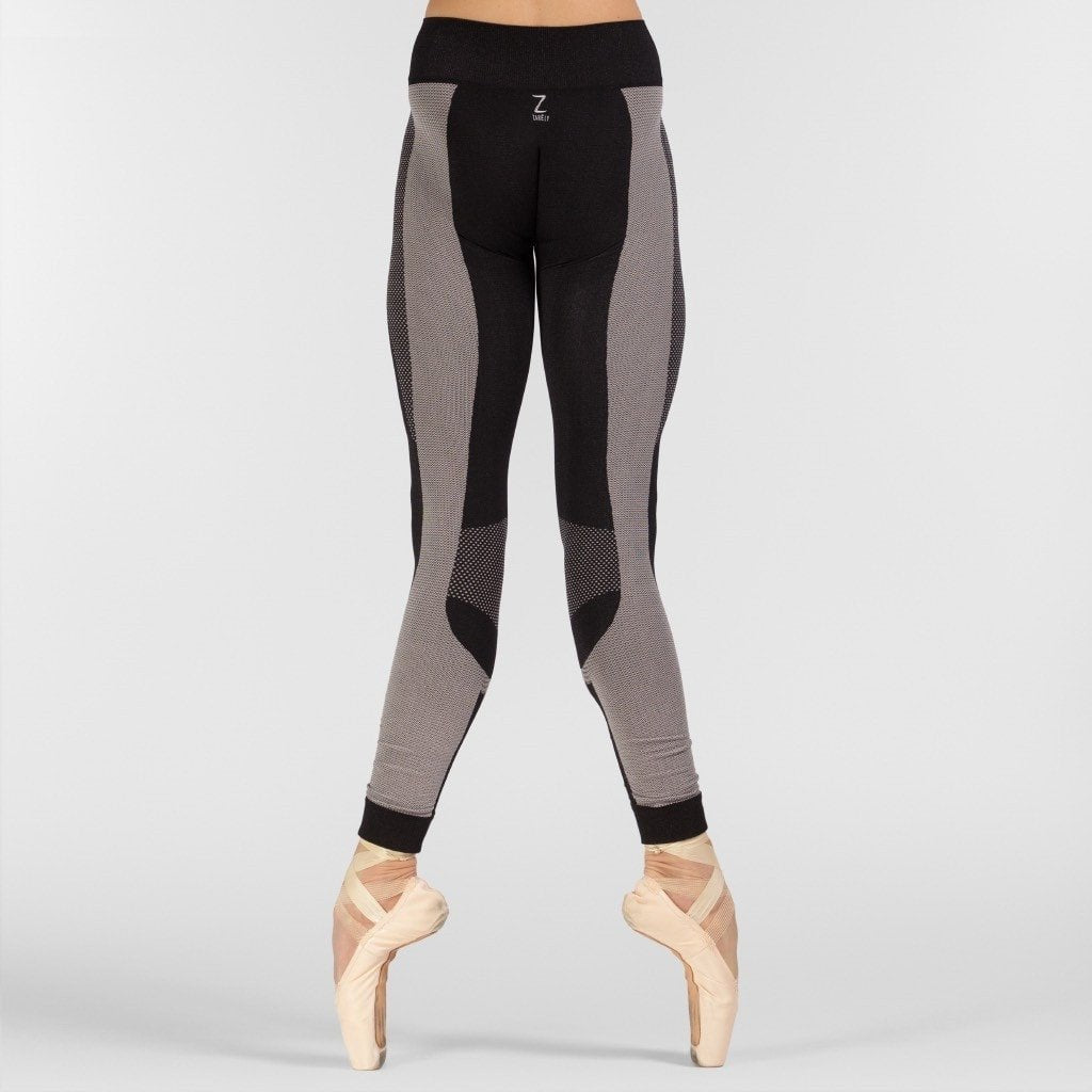 Maia Black Seamless Leggings