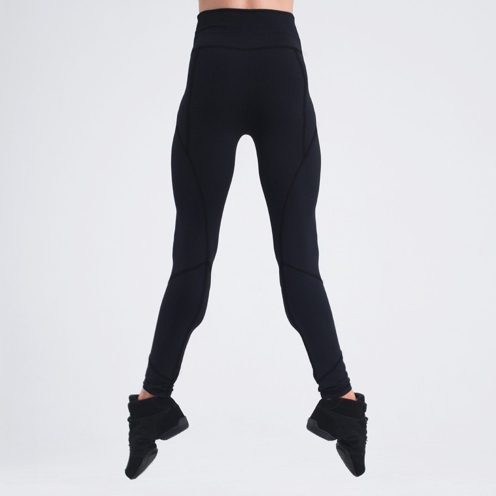 Zarely leggings-women Sasha Cotton-Soft Cuff Seam Leggings