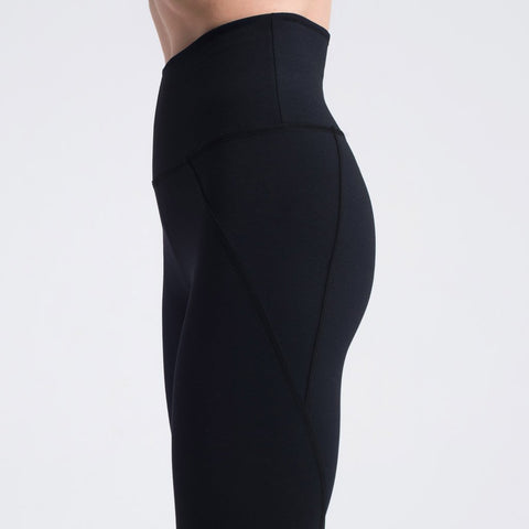 Sasha Cotton-Soft Cuff Seam Leggings