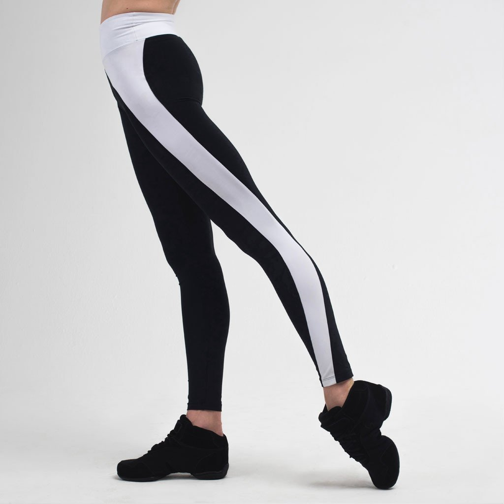 Zarely leggings-women Shannon Monochrome Asymmetric Leggings