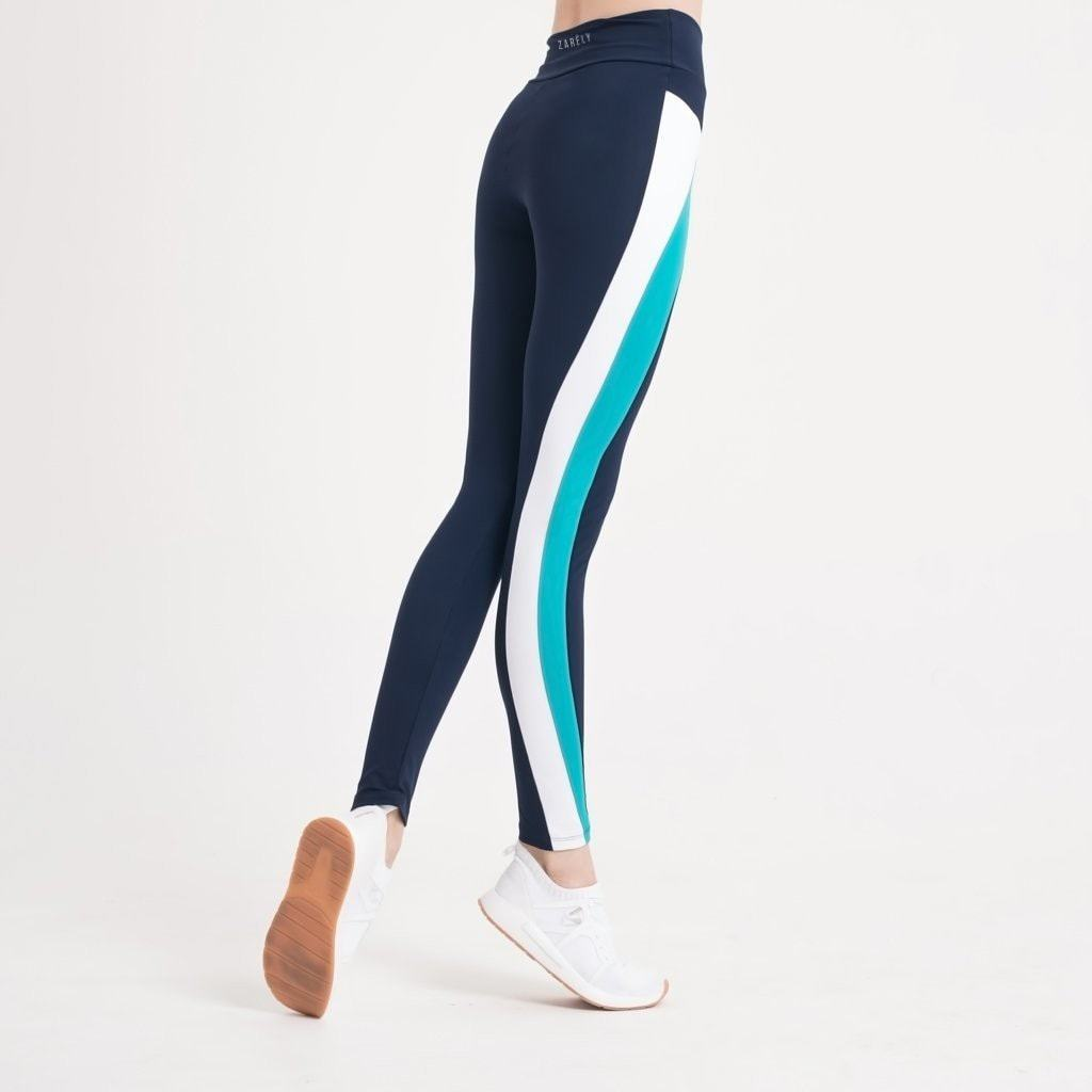 Yuriko Green Detail Leggings