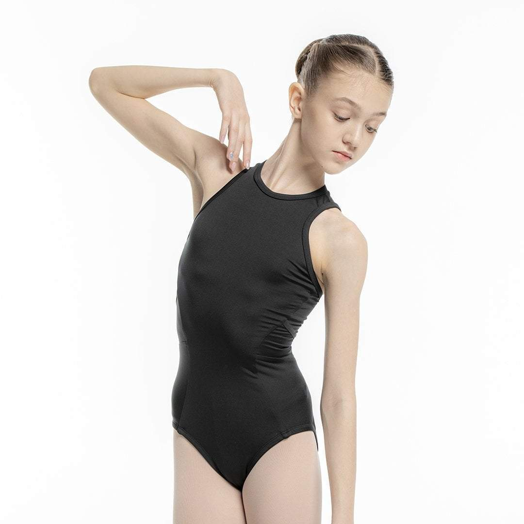 Ana Leotard Black for Kids
