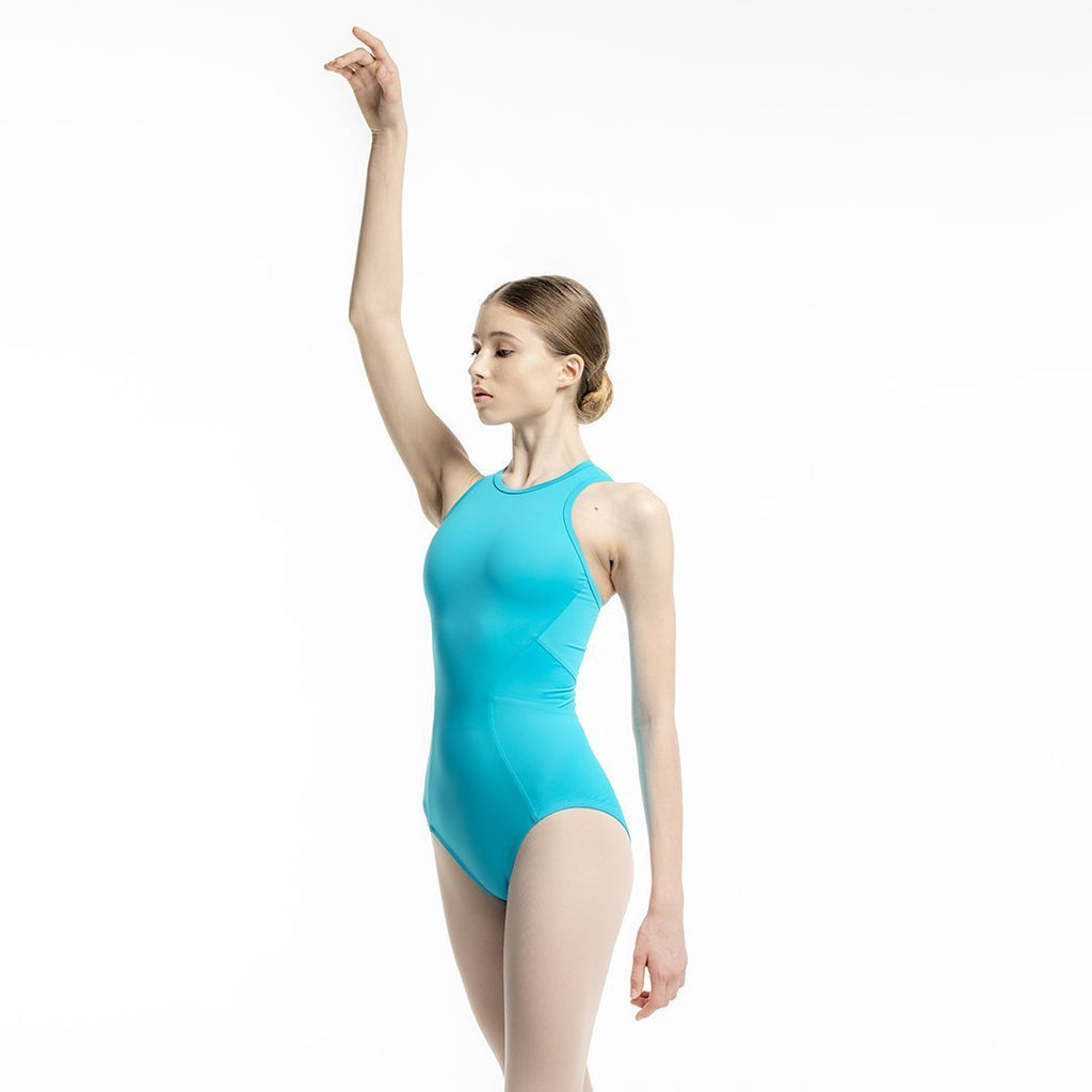 Zarely leotard-teens TS / Turquoise Ana Colored leotard for teens