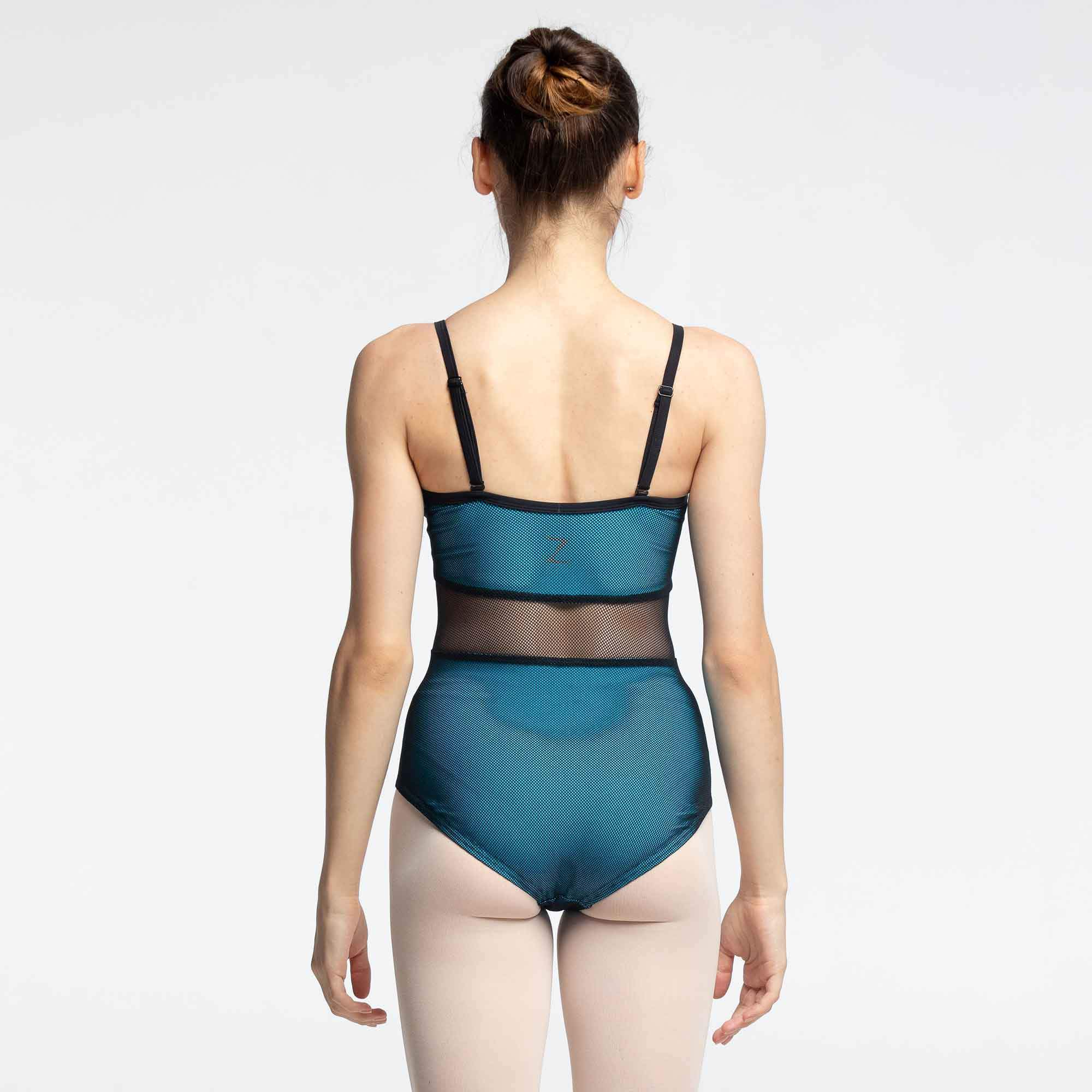 Elisa Mesh Leotard for teens
